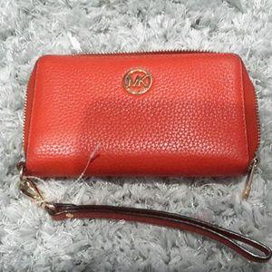 Michael. Kors leather ziparound wallet